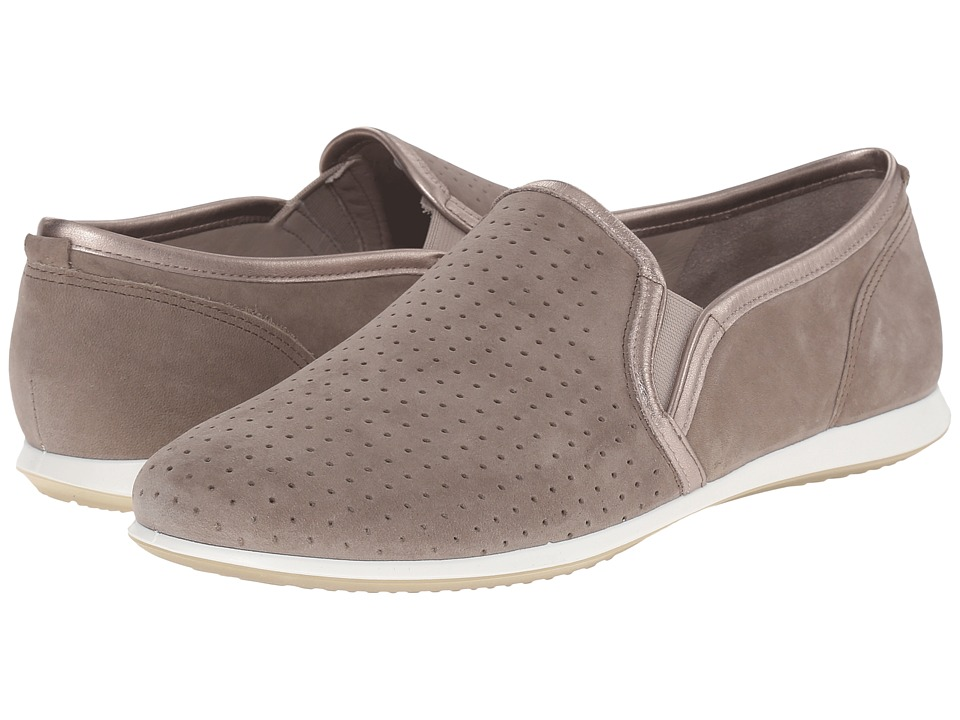 ECCO - Touch Sneaker Slip-On (Stone/Moon Rock) Women's Slip on Shoes