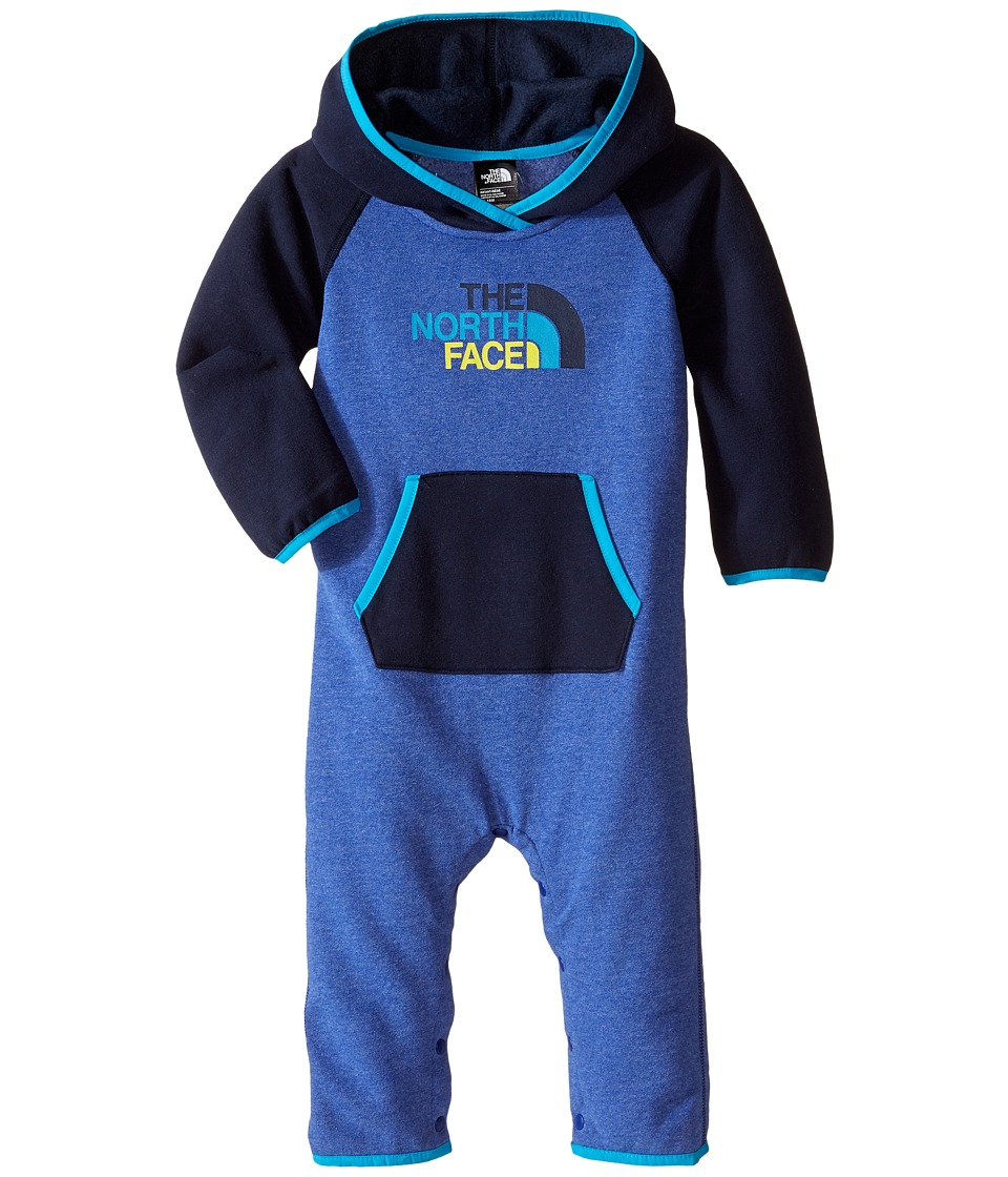 The North Face Kids - Logowear One-Piece (Infant) (Marker Blue) Kid's Jumpsuit & Rompers One Piece