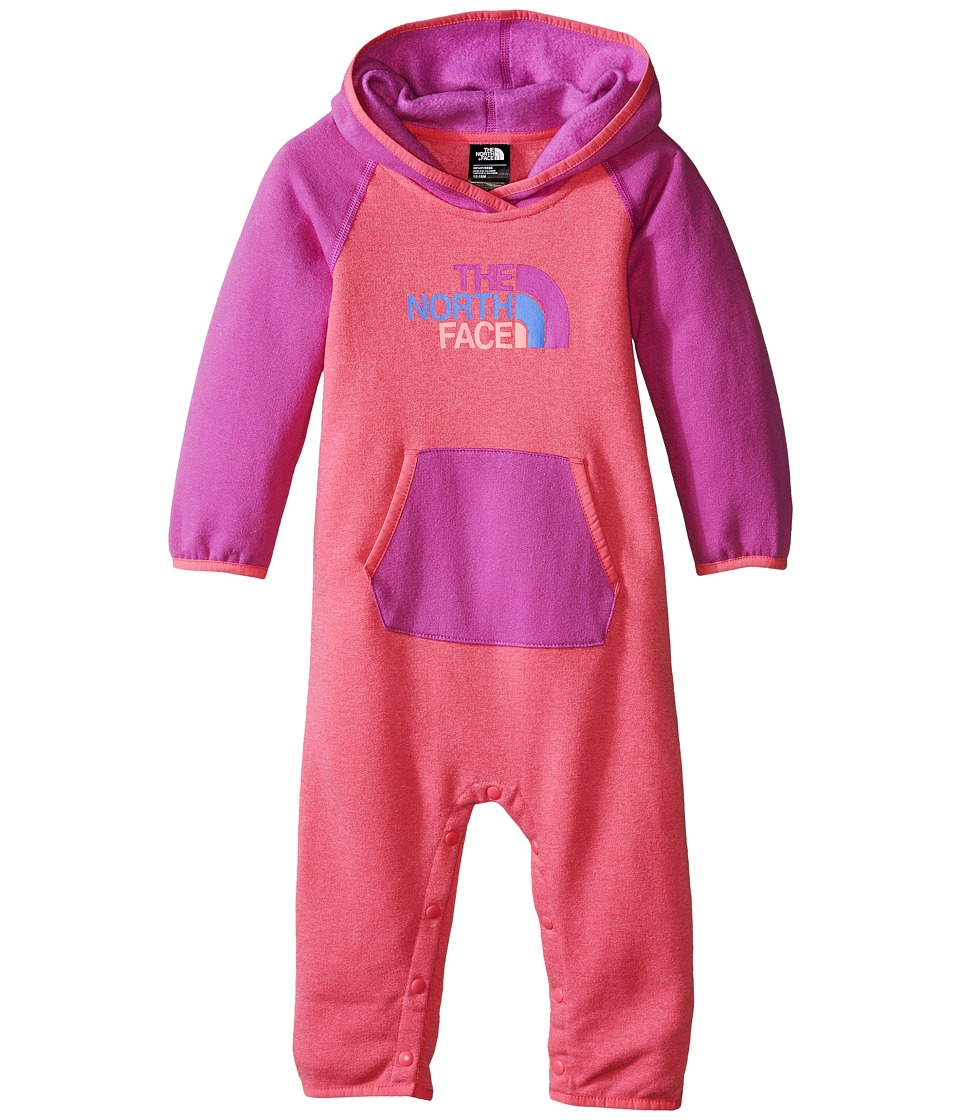The North Face Kids - Logowear One-Piece (Infant) (Cha Cha Pink) Kid's Jumpsuit & Rompers One Piece