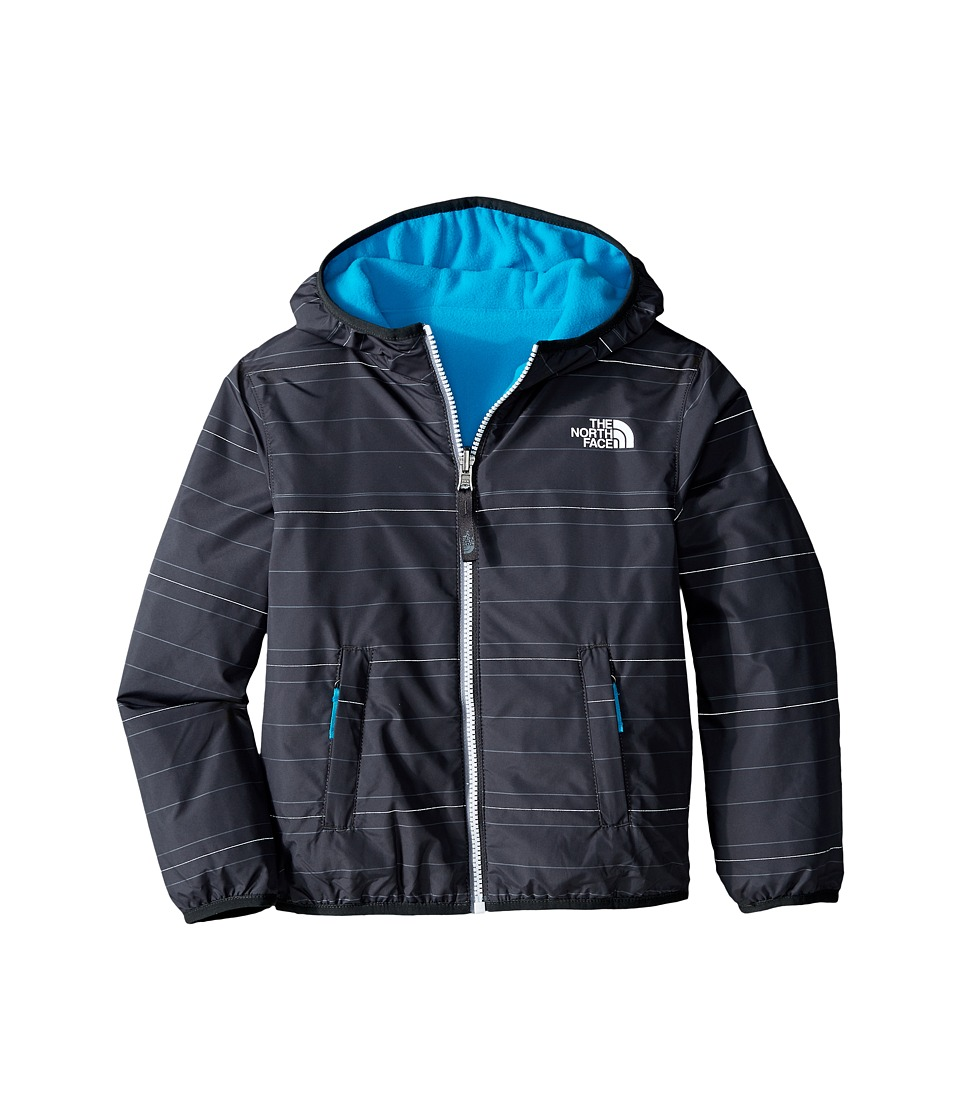 The North Face Kids - Reversible Breezeway Wind Jacket (Little Kids/Big Kids) (Asphalt Grey Stripe) Boy's Coat