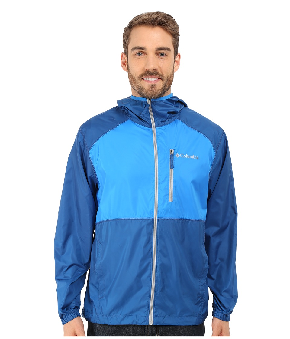 Columbia - Flash Forward Windbreaker (Marine Blue/Hyper Blue) Men's Coat