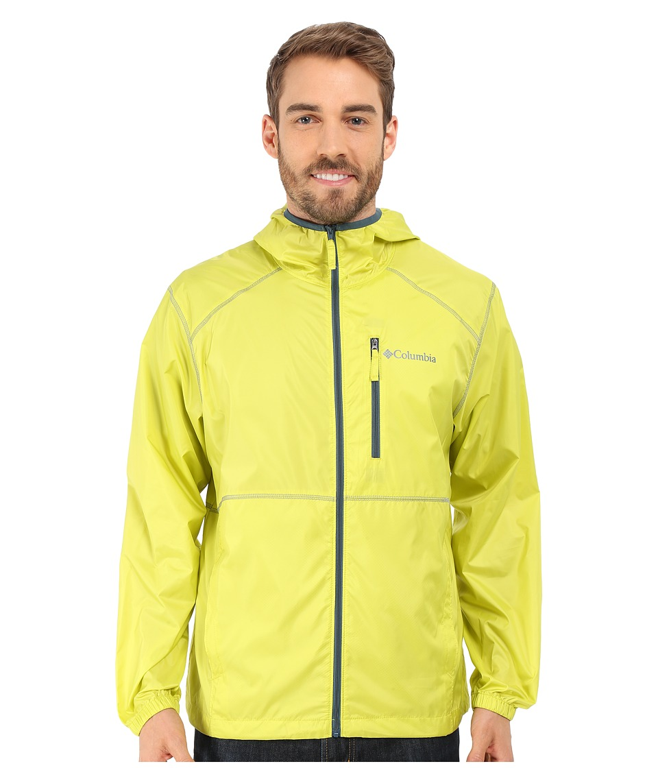Columbia - Flash Forward Windbreaker (Chartreuse) Men's Coat