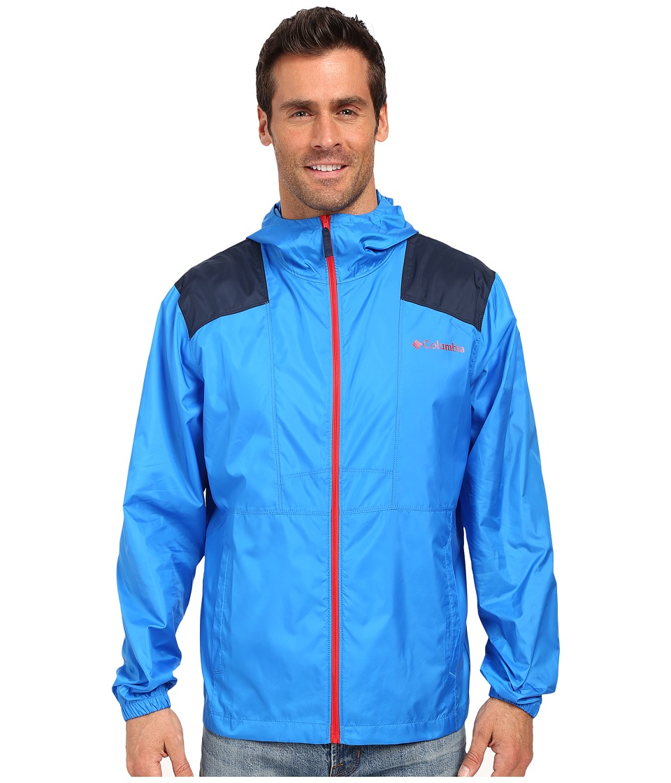 Columbia - Flashback Windbreaker (Hyper Blue/Collegiate Navy) Men's Coat