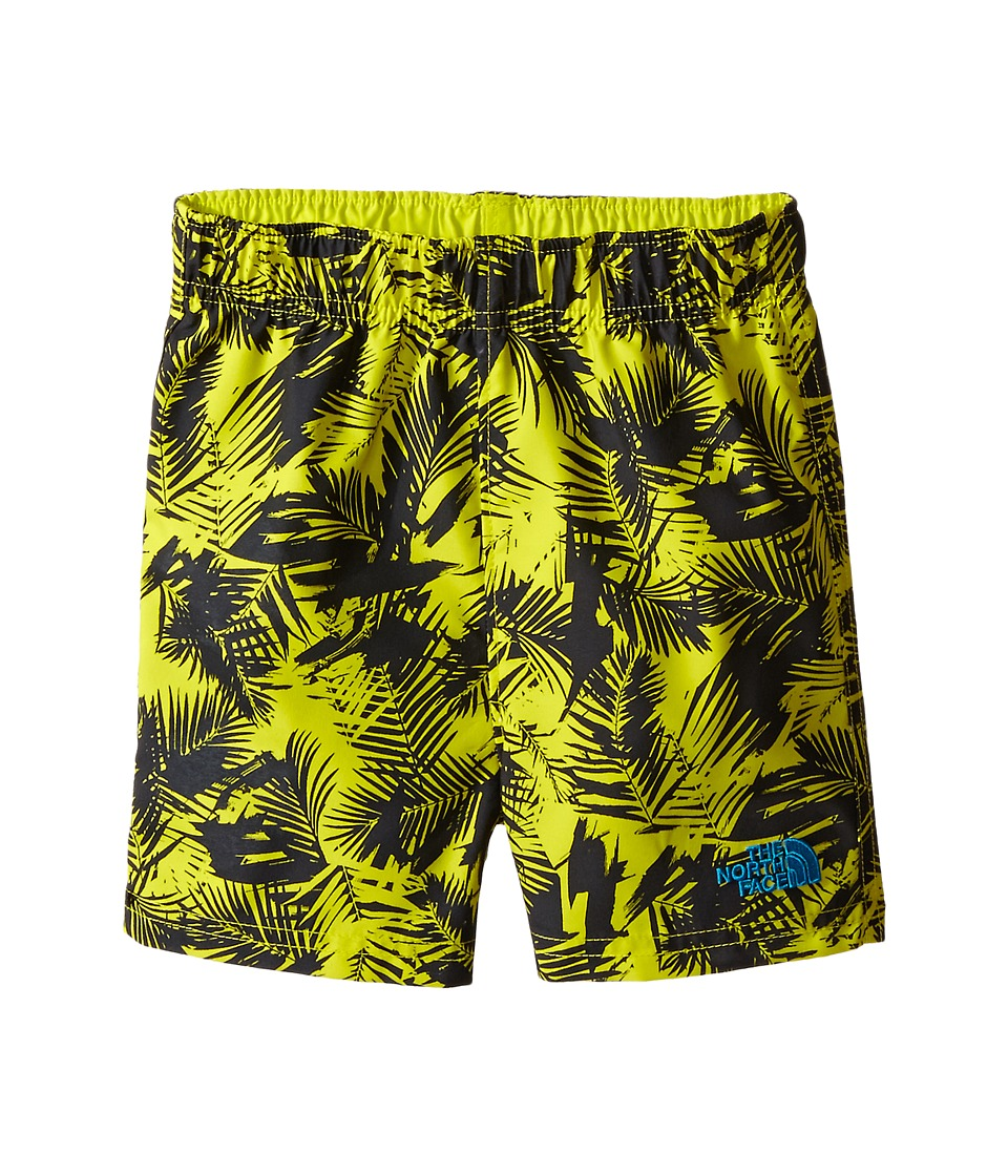 The North Face Kids - Hike/Water Short (Infant) (Sulphur Spring Green Abstract Palm Print) Kid's Shorts