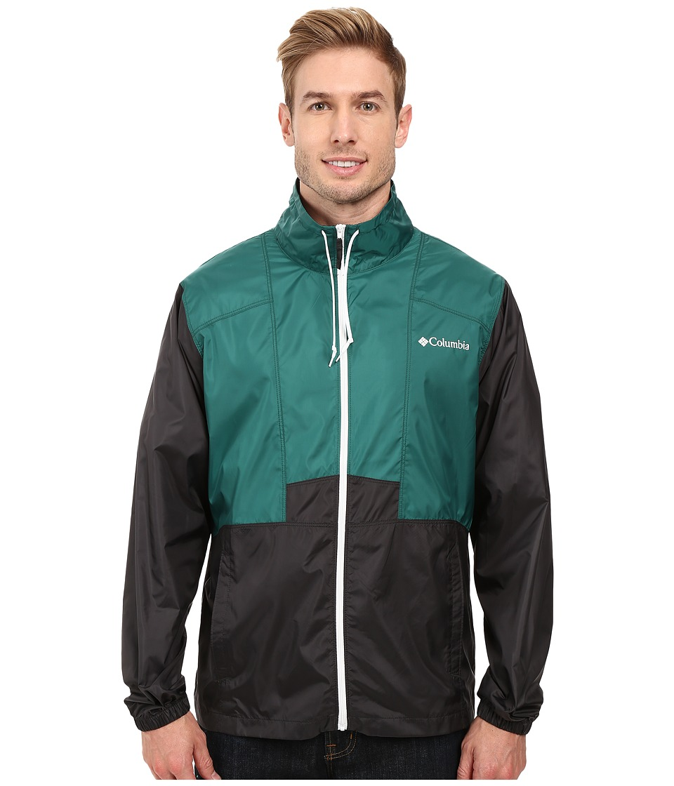 Columbia - Flashback Collared Jacket (Pine Green/Shark) Men's Coat