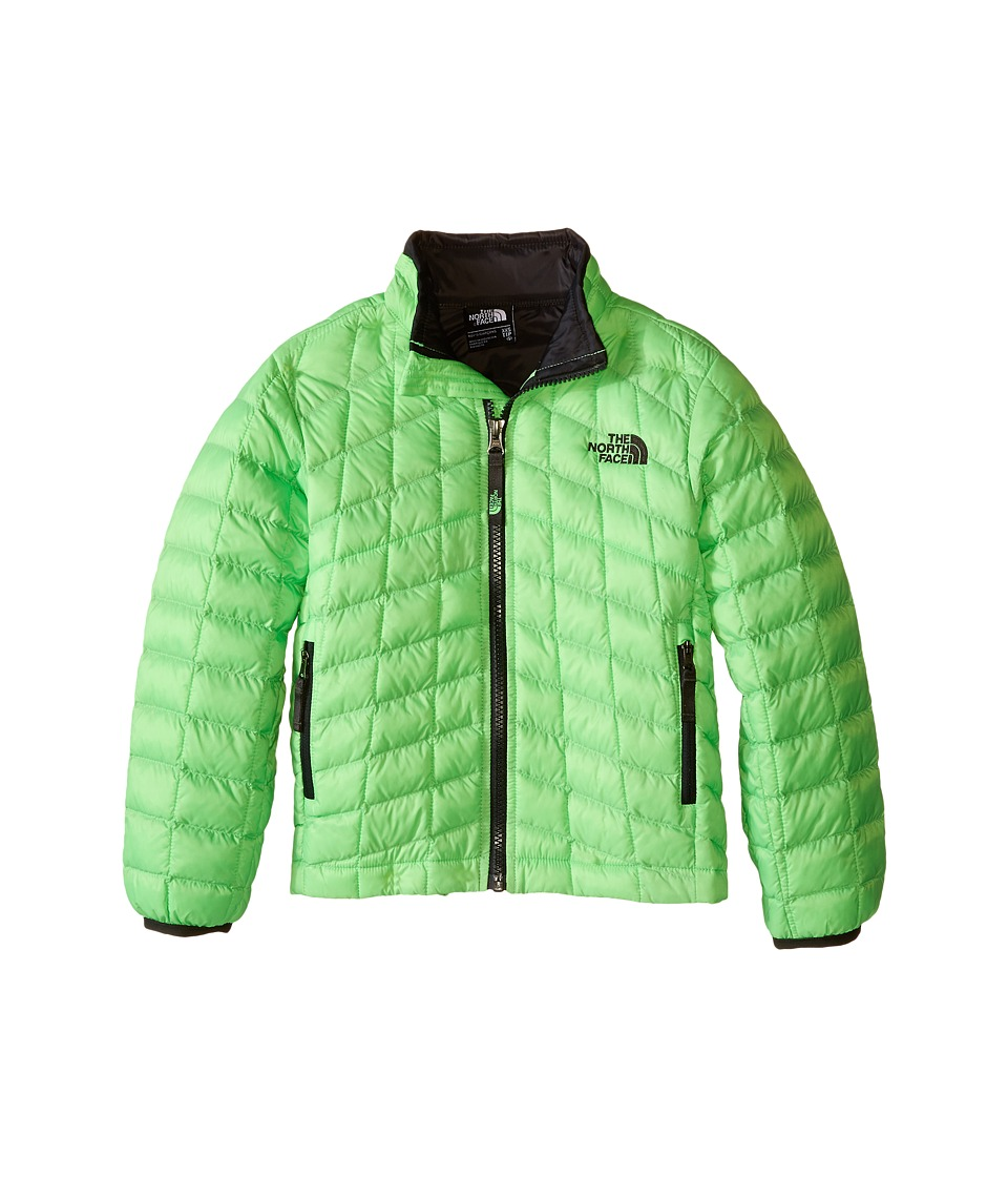 The North Face Kids - Thermoball Full Zip Jacket (Little Kids/Big Kids) (Electric Mint Green) Boy's Coat