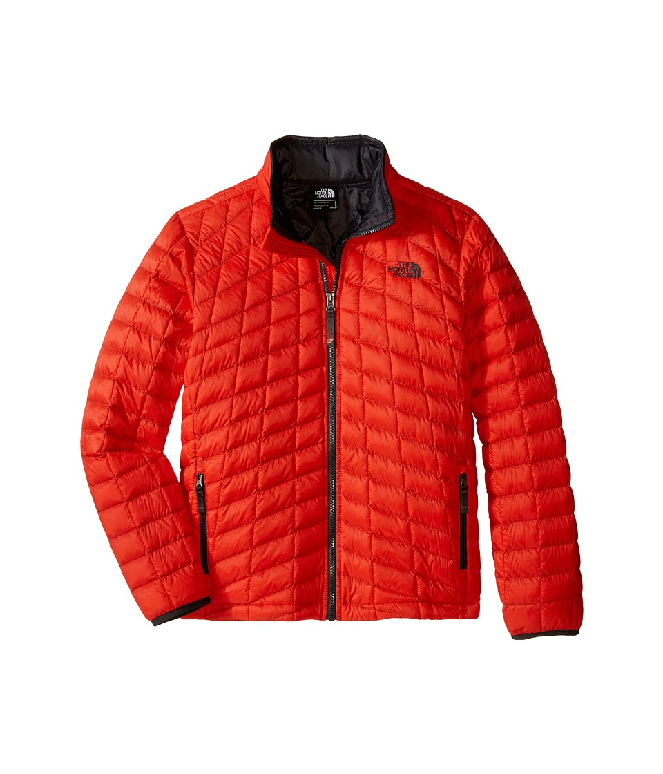 The North Face Kids - Thermoball Full Zip Jacket (Little Kids/Big Kids) (Fiery Red) Boy's Coat