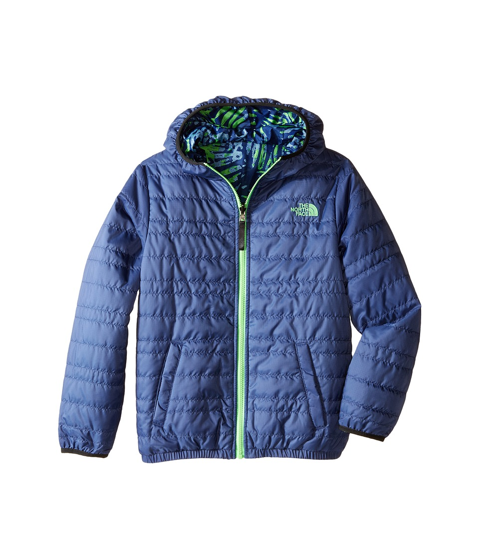 The North Face Kids - Reversible Perrito Peak Jacket (Little Kids/Big Kids) (Pelagic Blue) Boy's Coat