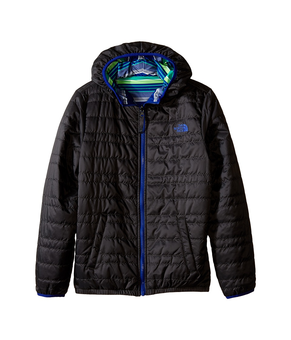 The North Face Kids - Reversible Perrito Peak Jacket (Little Kids/Big Kids) (Asphalt Grey) Boy's Coat