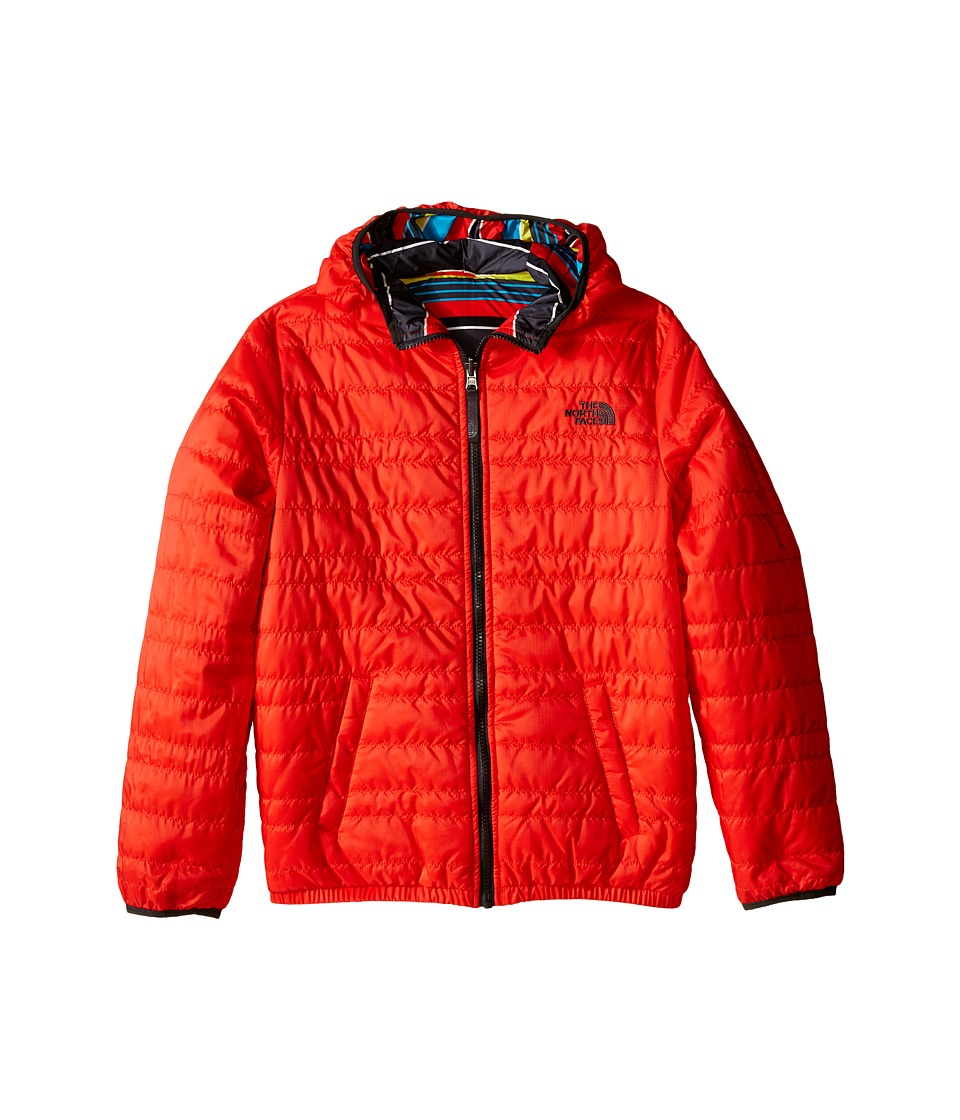 The North Face Kids - Reversible Perrito Peak Jacket (Little Kids/Big Kids) (Fiery Red) Boy's Coat