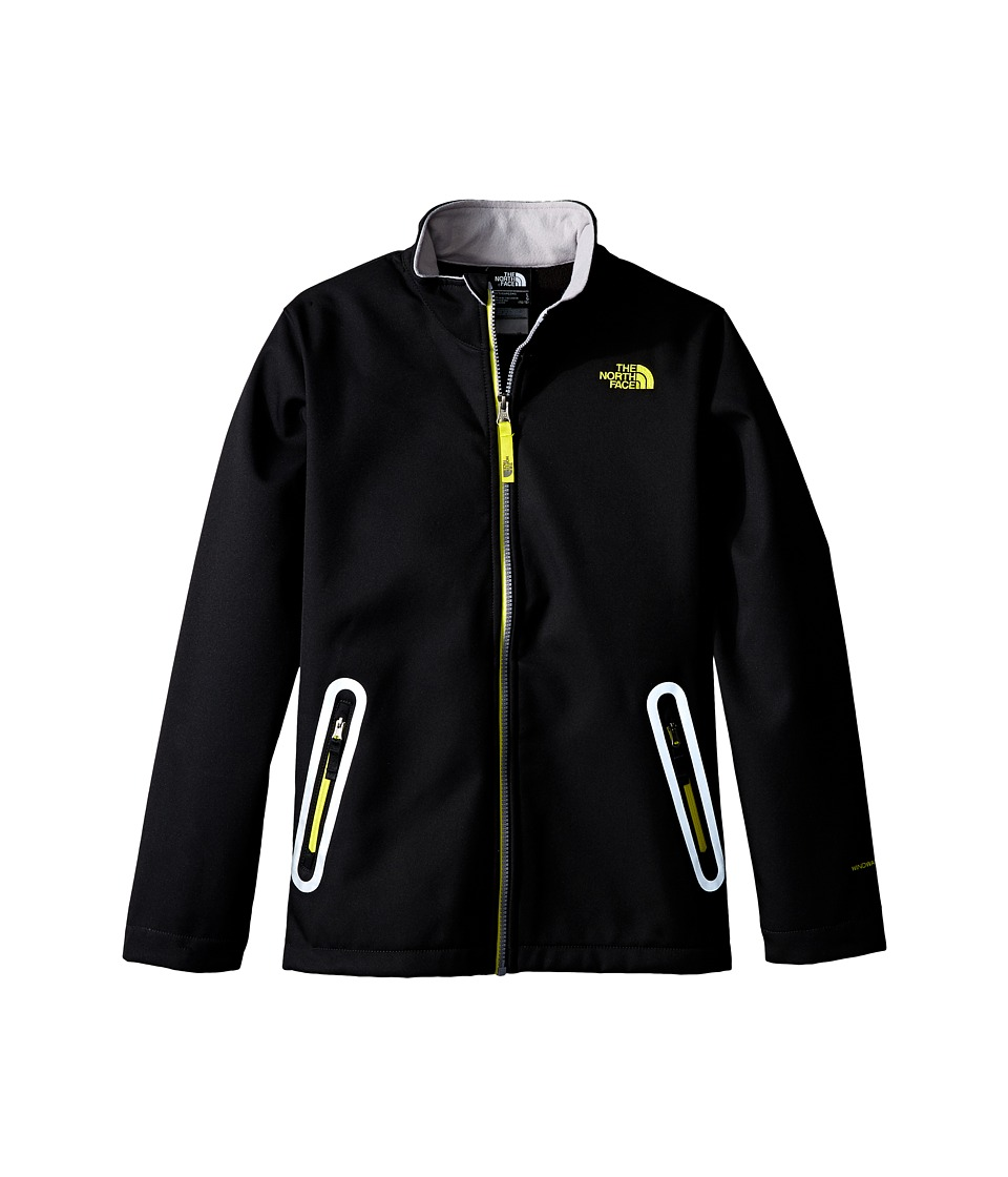 The North Face Kids - TNF Apex Bionic Jacket (Little Kids/Big Kids) (TNF Black) Boy's Coat