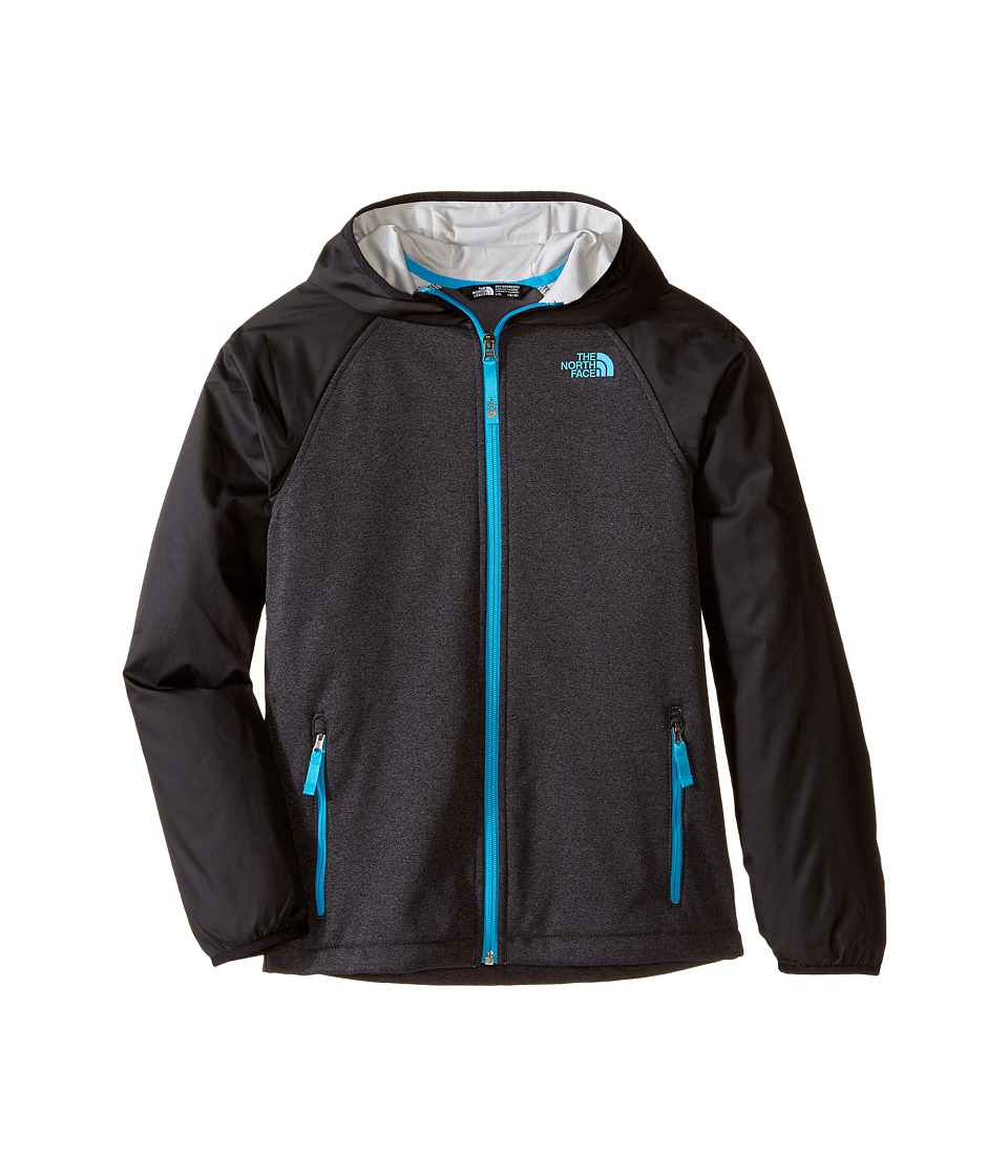 The North Face Kids - Canyonlands Track Hoodie (Little Kids/Big Kids) (TNF Dark Grey Heather) Boy's Sweatshirt