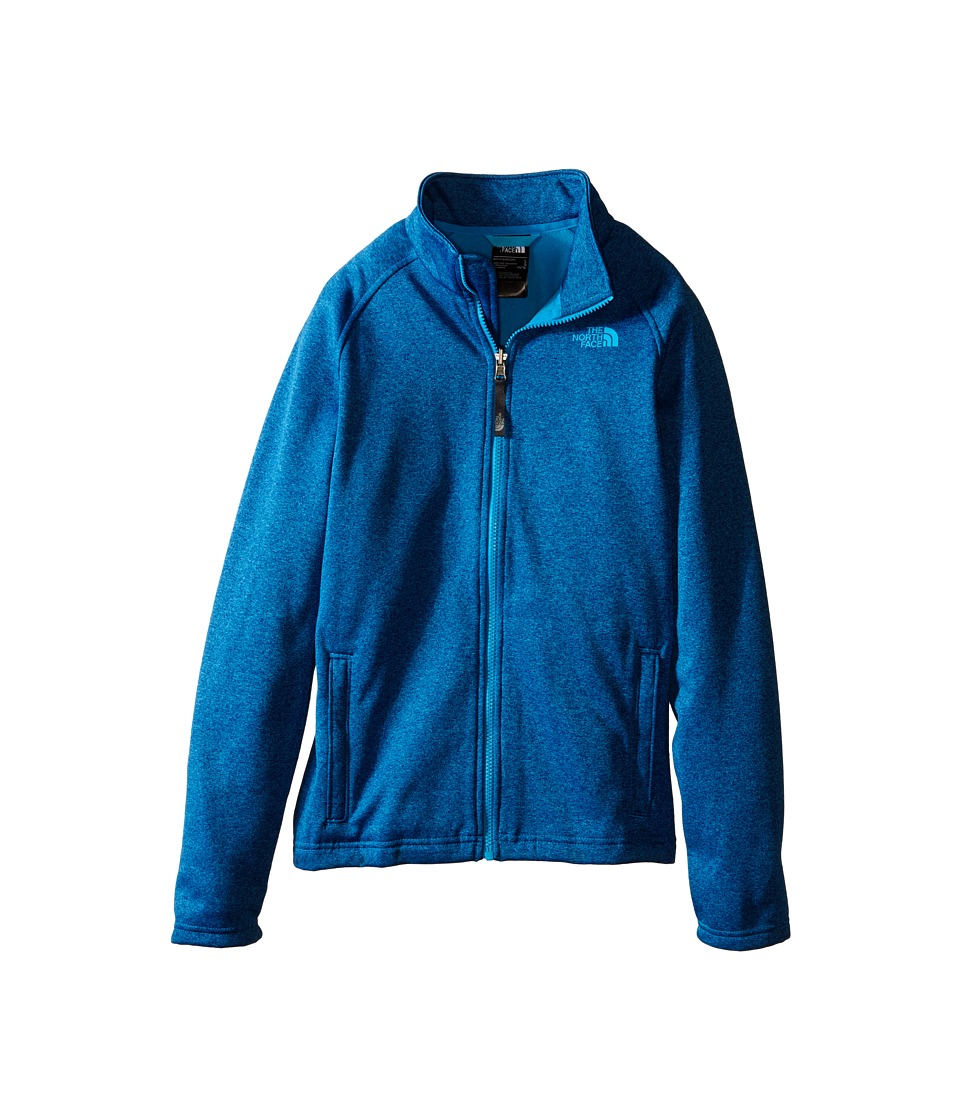 The North Face Kids - Canyonlands Full Zip Jacket (Little Kids/Big Kids) (Meridian Blue Heather) Boy's Coat
