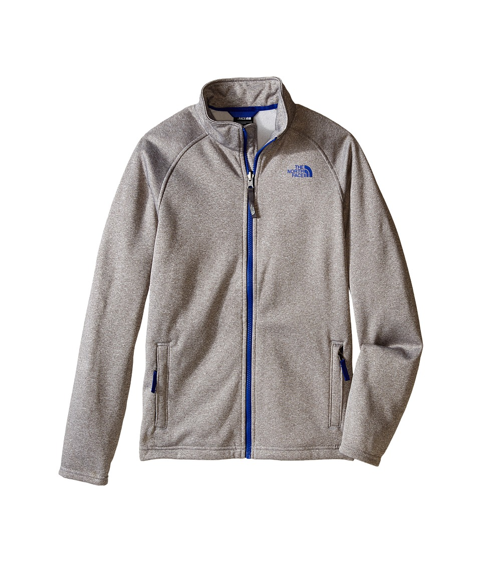 The North Face Kids - Canyonlands Full Zip Jacket (Little Kids/Big Kids) (TNF Light Grey Heather) Boy's Coat