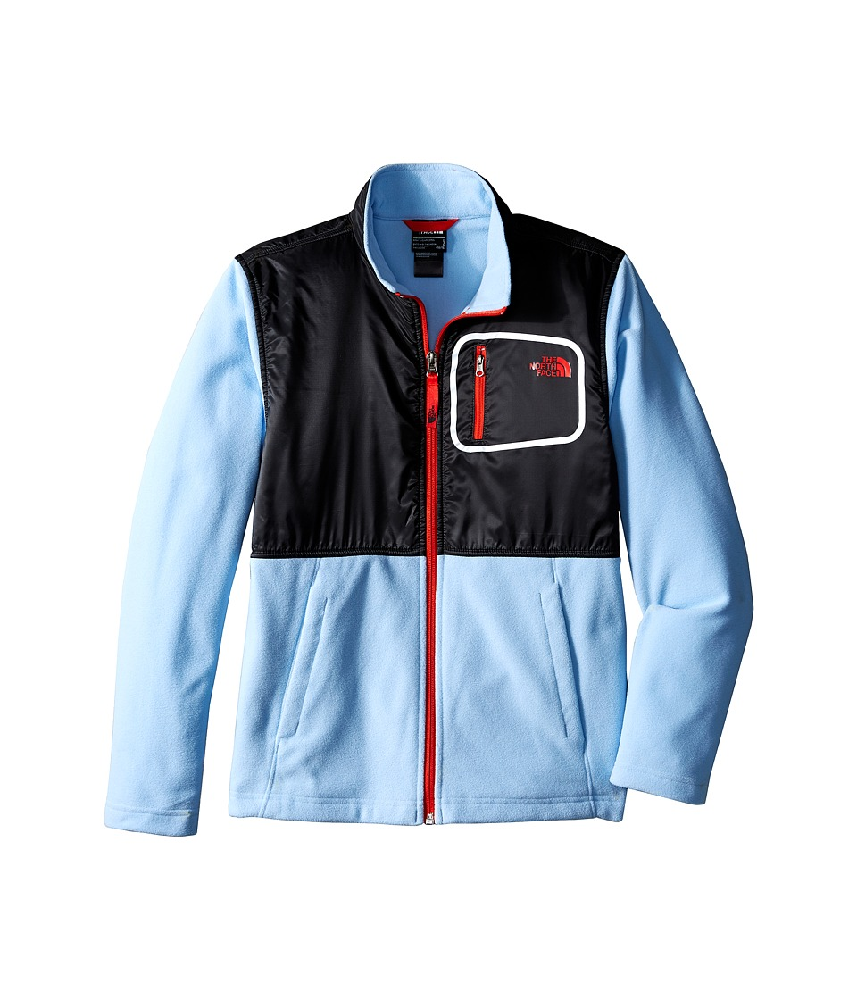 The North Face Kids - Peril Glacier Track Jacket (Little Kids/Big Kids) (Powder Blue) Boy's Coat