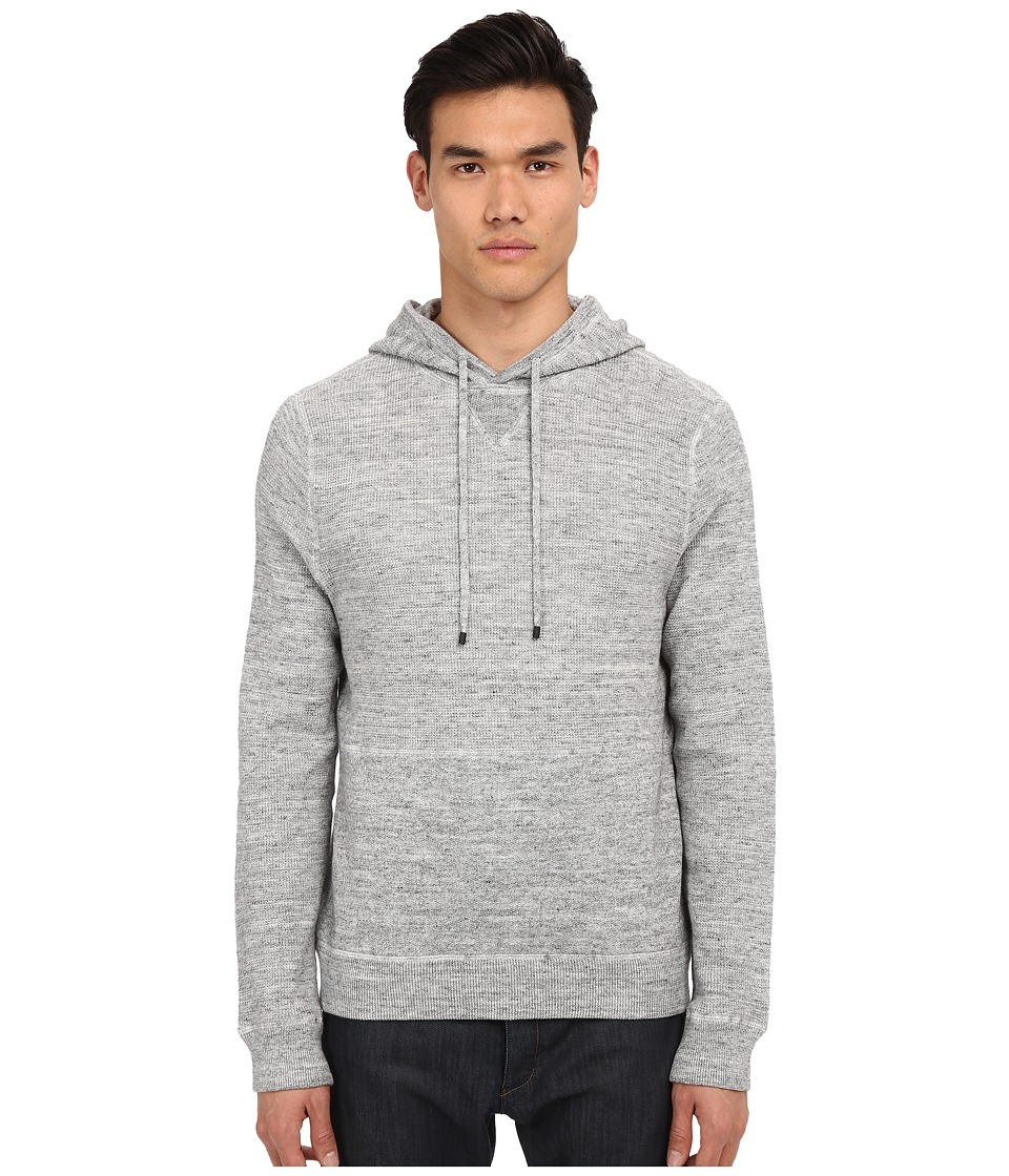 Vince - Sporty Jaspe Hoodie (Heather Mist) Men