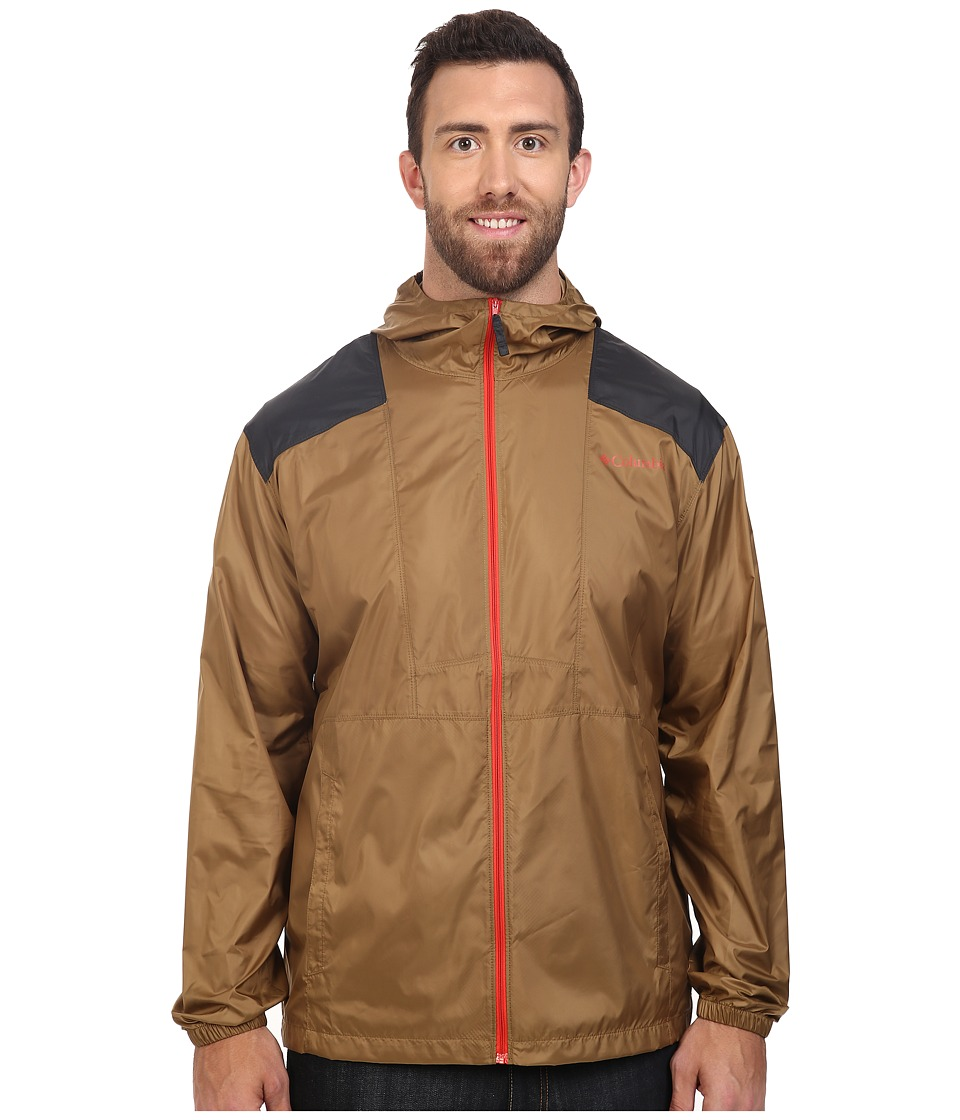 Columbia - Big Tall Flashback Windbreaker (Delta/Shark) Men's Coat