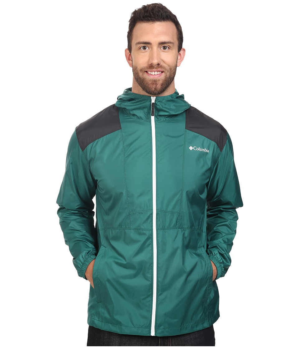 Columbia - Big Tall Flashback Windbreaker (Pine Green/Shark) Men's Coat