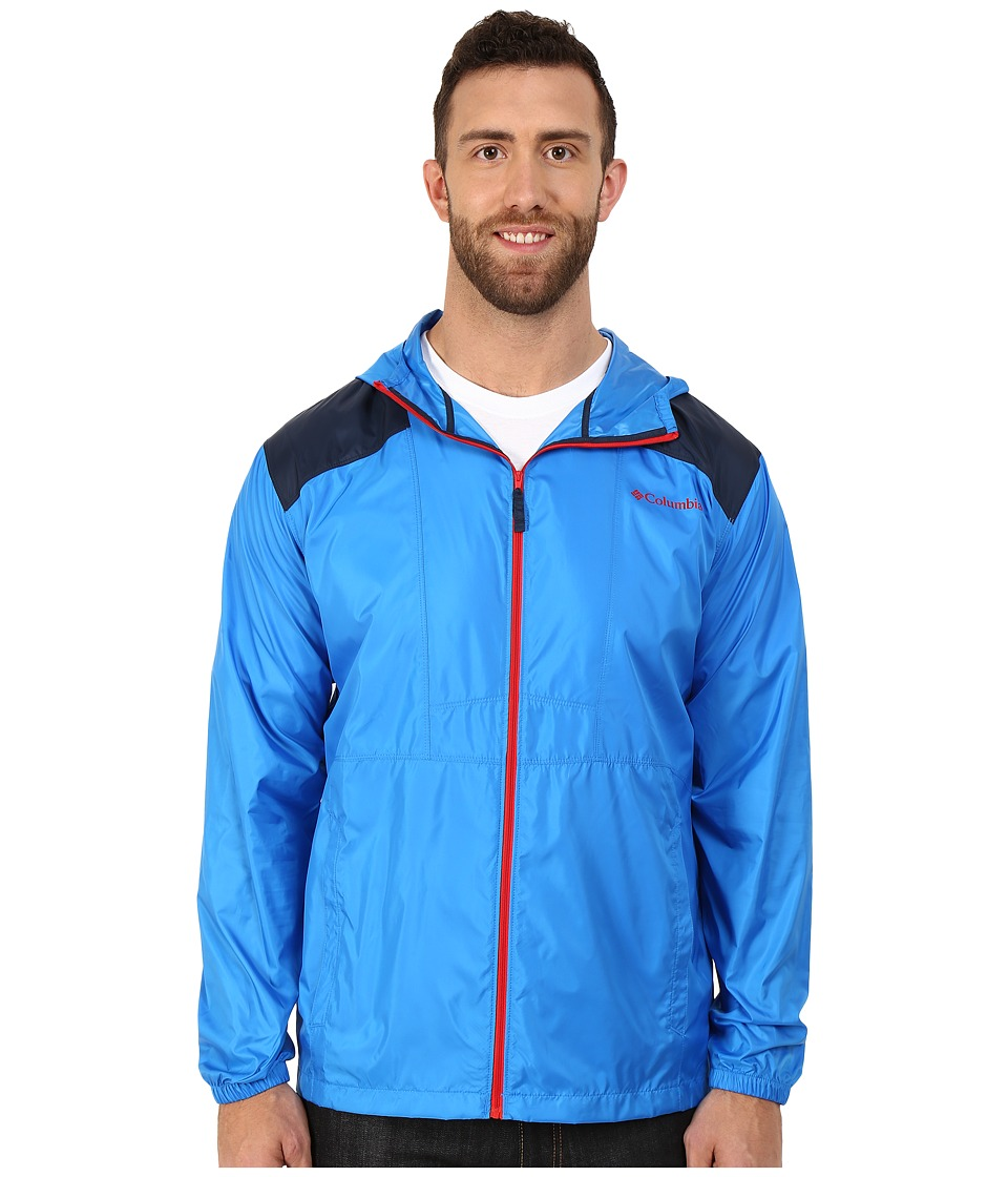 Columbia - Big Tall Flashback Windbreaker (Hyper Blue/Collegiate Navy) Men's Coat