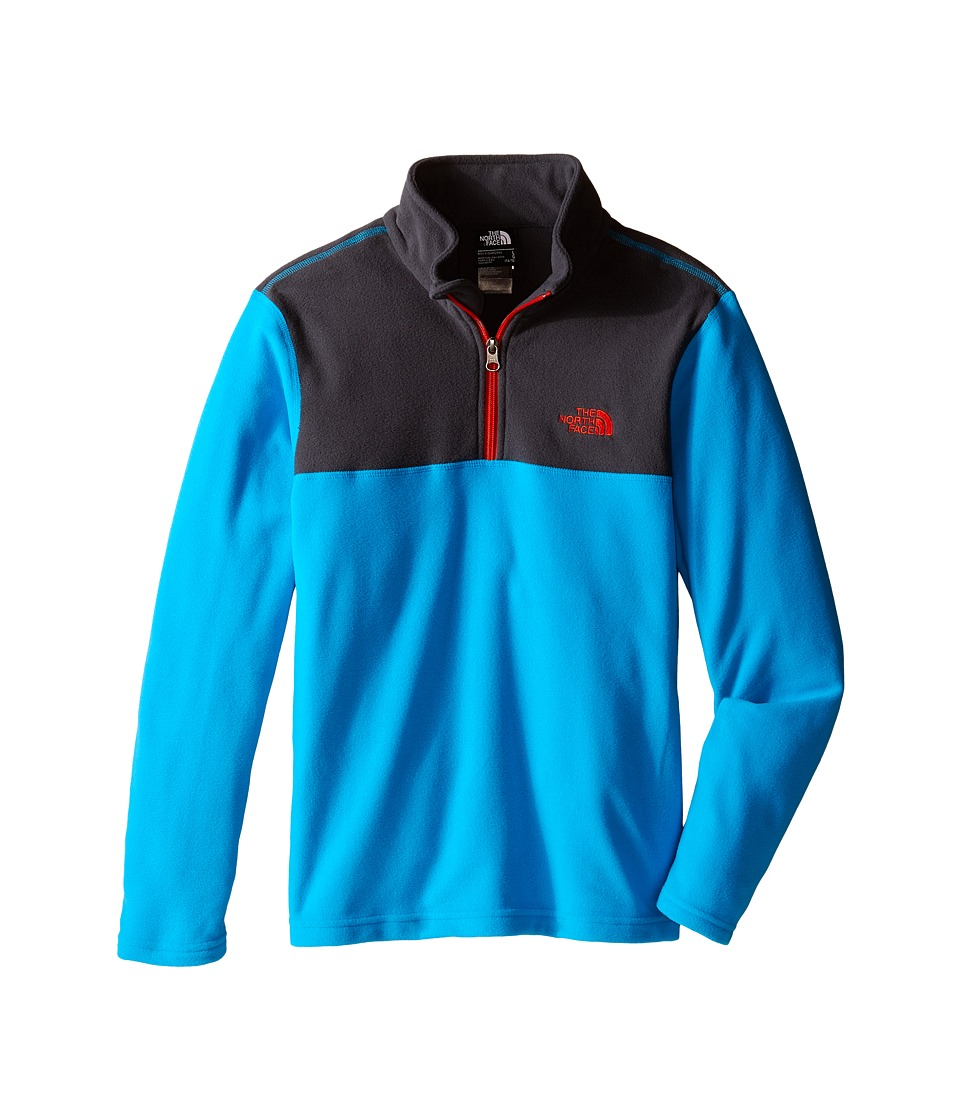 The North Face Kids - Glacier 1/4 Zip (Little Kids/Big Kids) (Meridian Blue) Boy's Long Sleeve Pullover