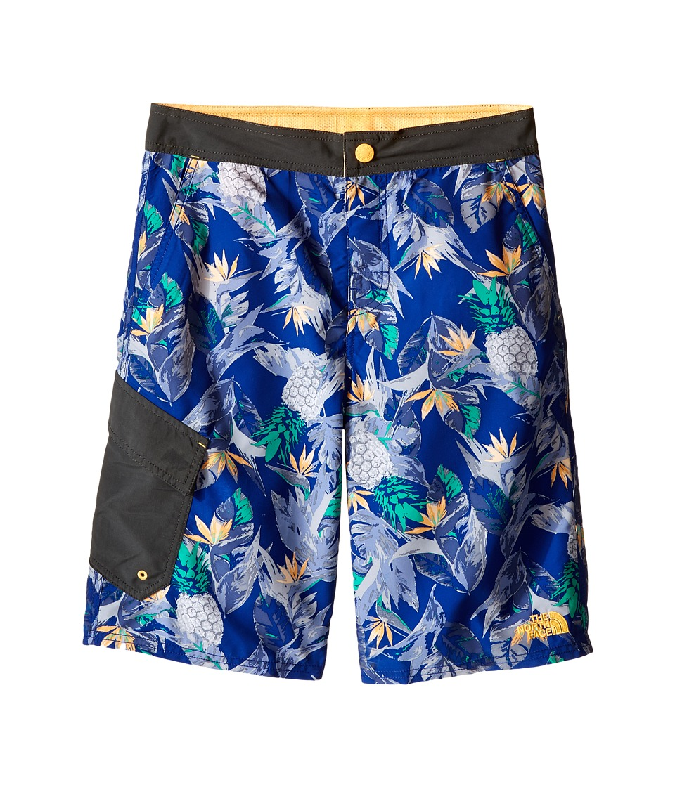 The North Face Kids - Markhor Hike/Water Shorts (Little Kids/Big Kids) (Marker Blue Pineapple Print) Boy's Shorts