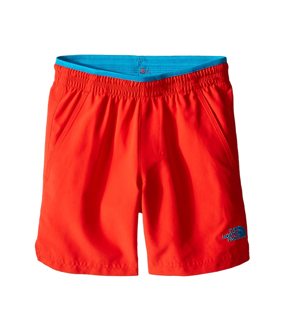 The North Face Kids - Class V Water Shorts (Little Kids/Big Kids) (Fiery Red) Boy's Swimwear
