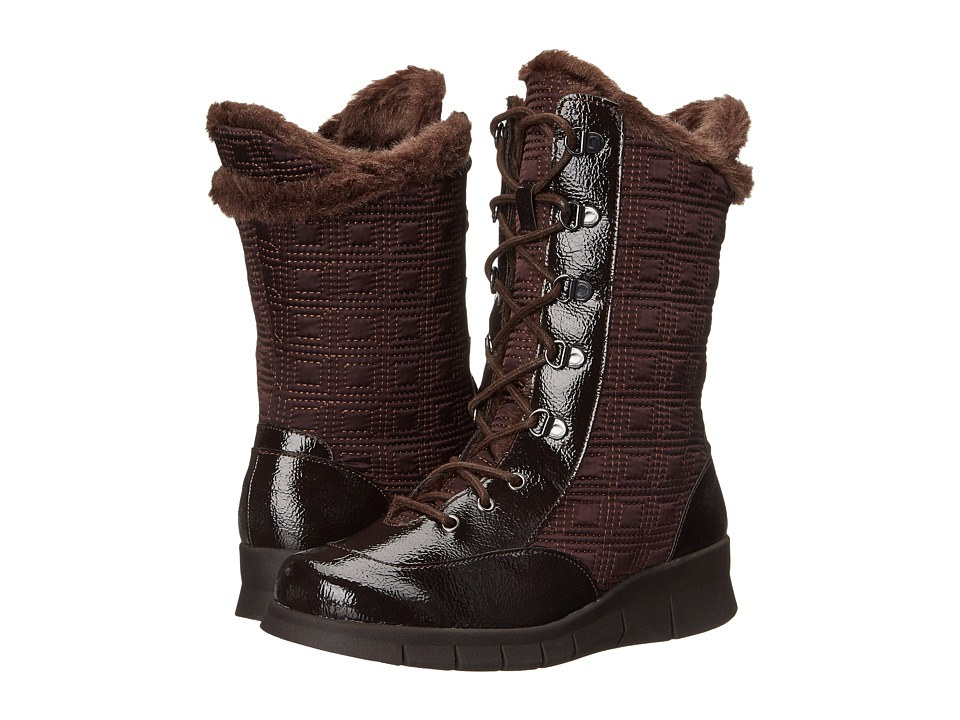 A2 by Aerosoles Enamel (Dark Brown Combo) Women