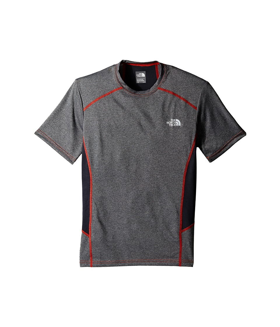 The North Face Kids - Short Sleeve Reactor Tee (Little Kids/Big Kids) (TNF Medium Grey Heather) Boy's Short Sleeve Pullover