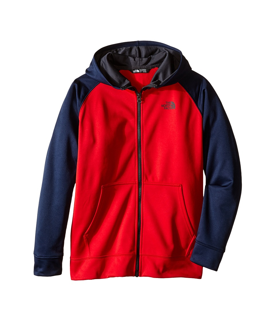 The North Face Kids - Surgent Full Zip Hoodie (Little Kids/Big Kids) (TNF Red) Boy's Sweatshirt