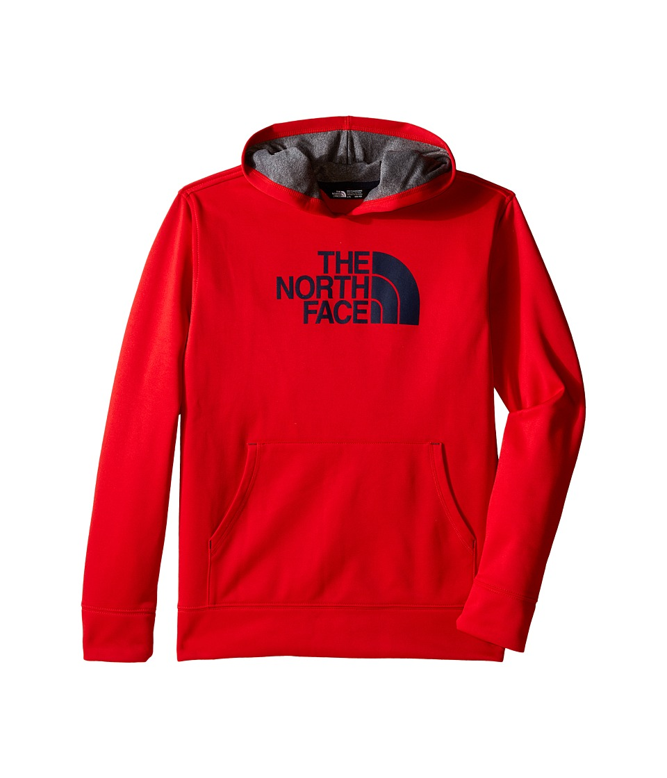 The North Face Kids - Surgent Pullover Hoodie (Little Kids/Big Kids) (TNF Red) Boy's Sweatshirt