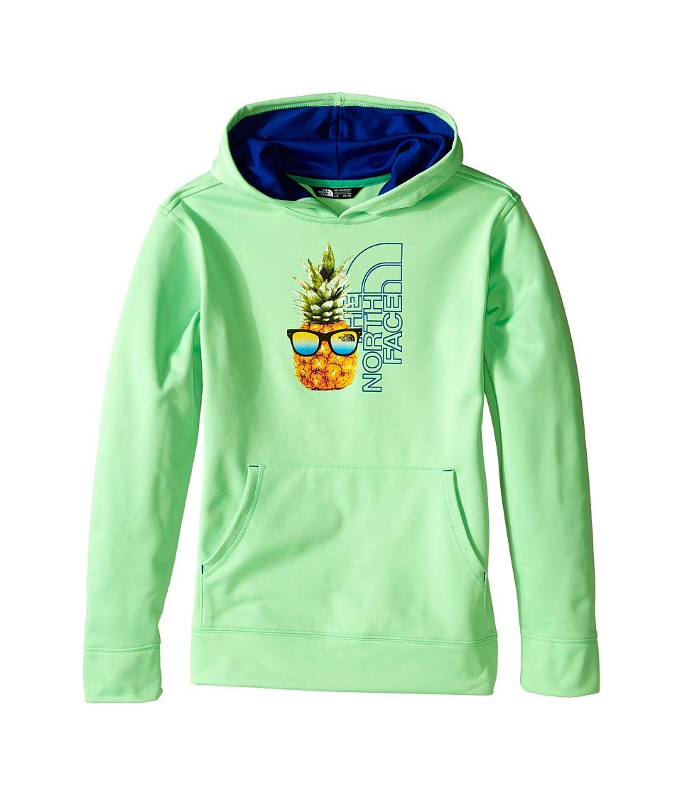 The North Face Kids - Surgent Pullover Hoodie (Little Kids/Big Kids) (Electric Mint Green) Boy's Sweatshirt