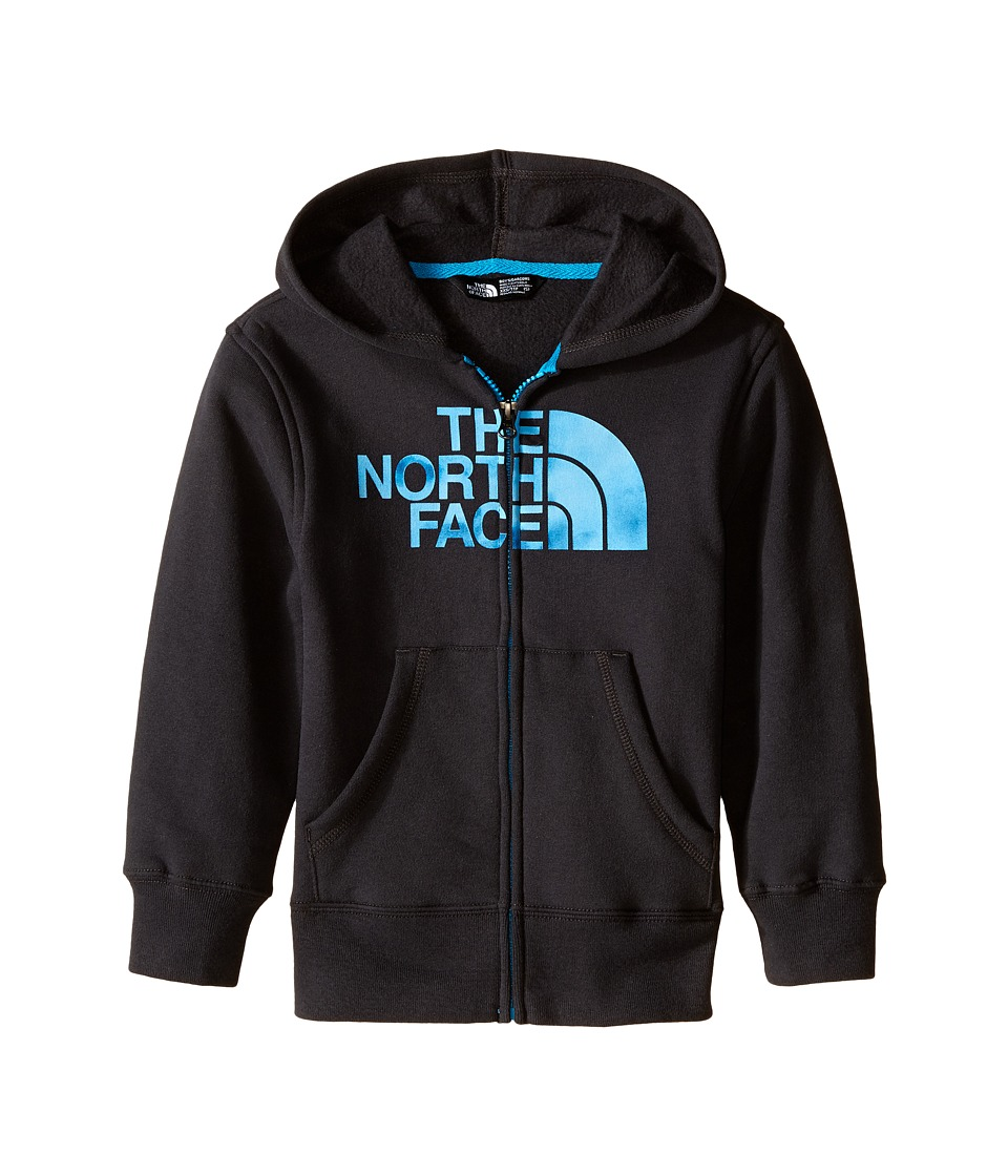 The North Face Kids - Logowear Full Zip Hoodie (Little Kids/Big Kids) (Asphalt Grey) Boy's Sweatshirt