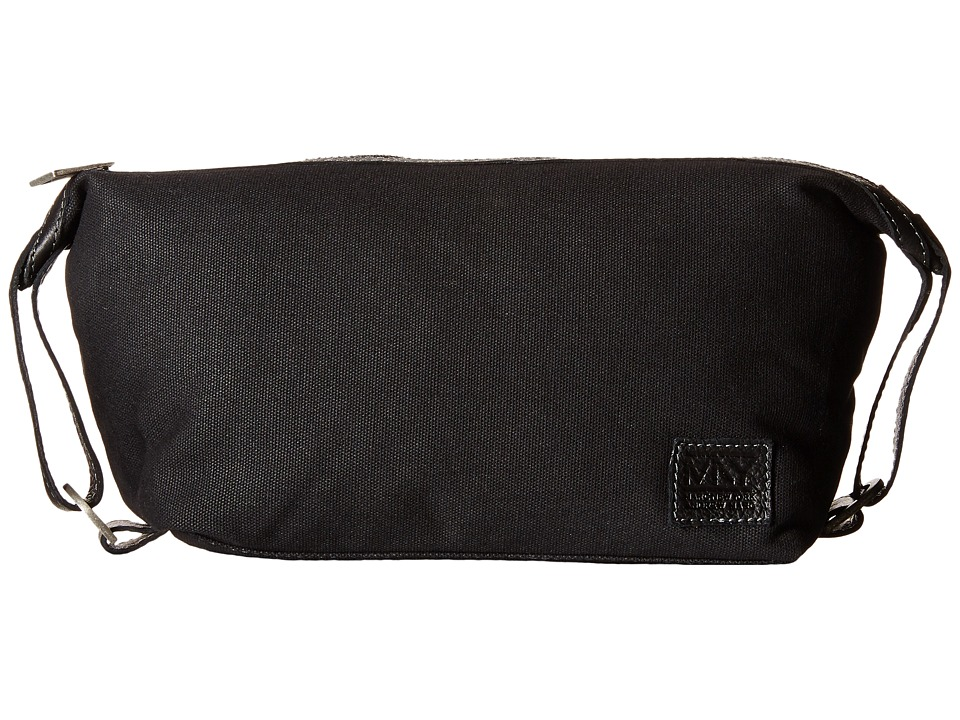 Marc New York by Andrew Marc - Mixed Material Travel Kit (Black) Travel Pouch