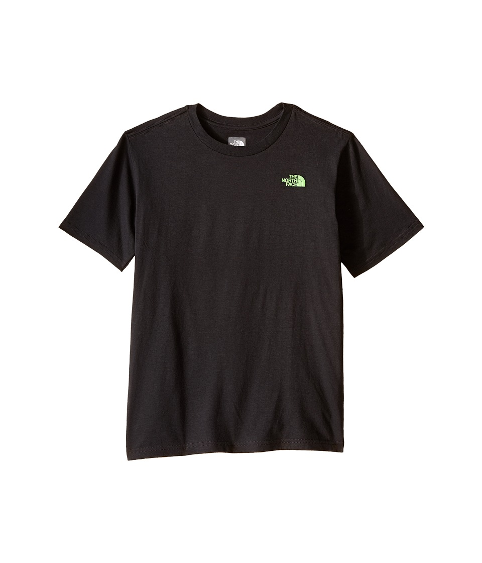 The North Face Kids - Short Sleeve Graphic Tee (Little Kids/Big Kids) (Asphalt Grey) Boy's Clothing