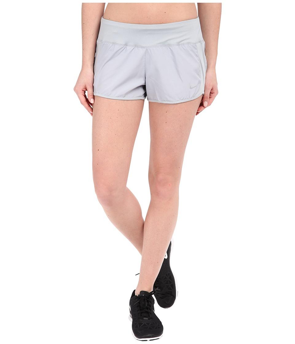 Nike - Dri-FITtm Crew Shorts (Wolf Grey/Wolf Grey/Reflective Silver) Women's Shorts