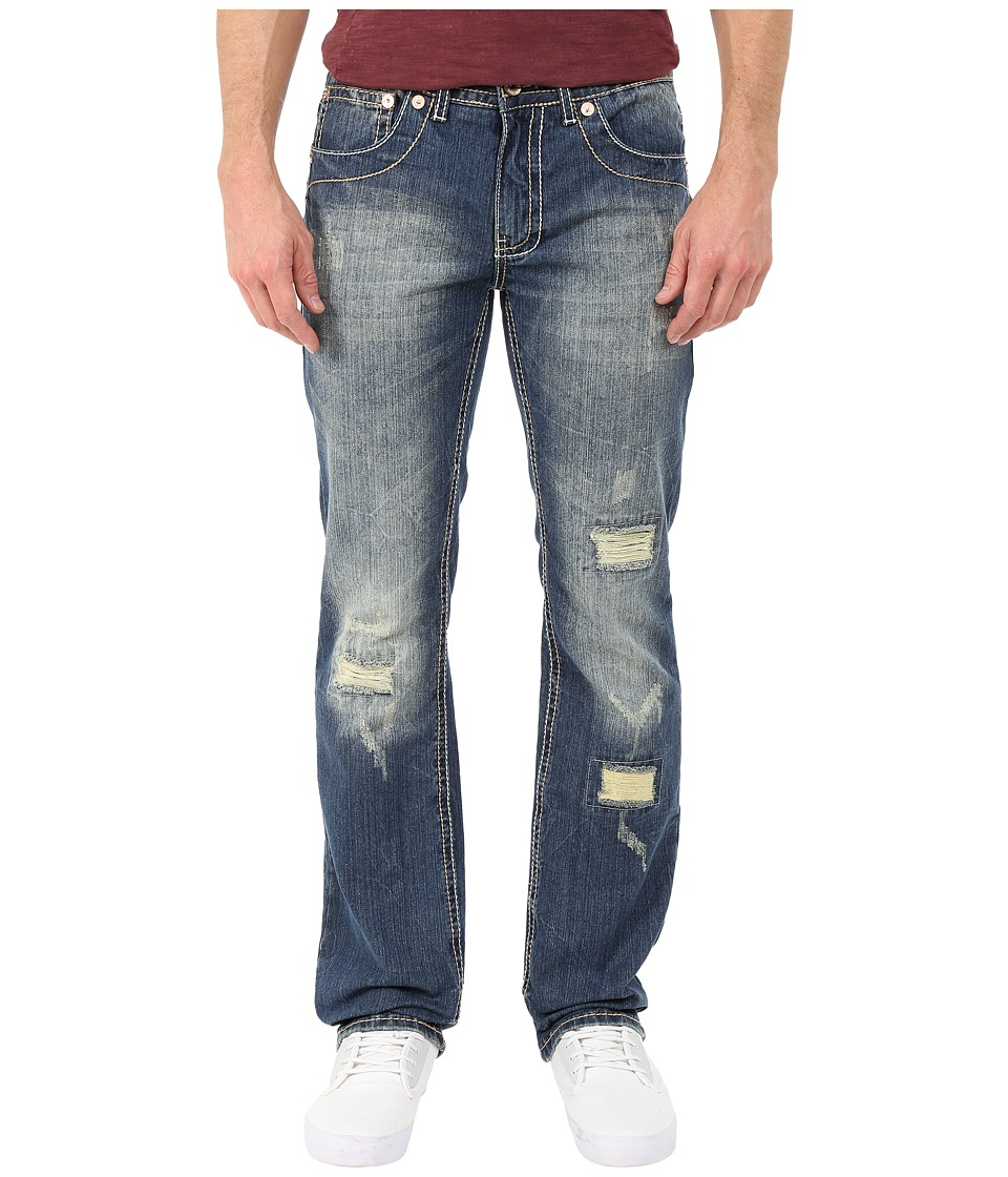 Antique Rivet - Mark Straight Jeans in Monte (Monte) Men's Jeans