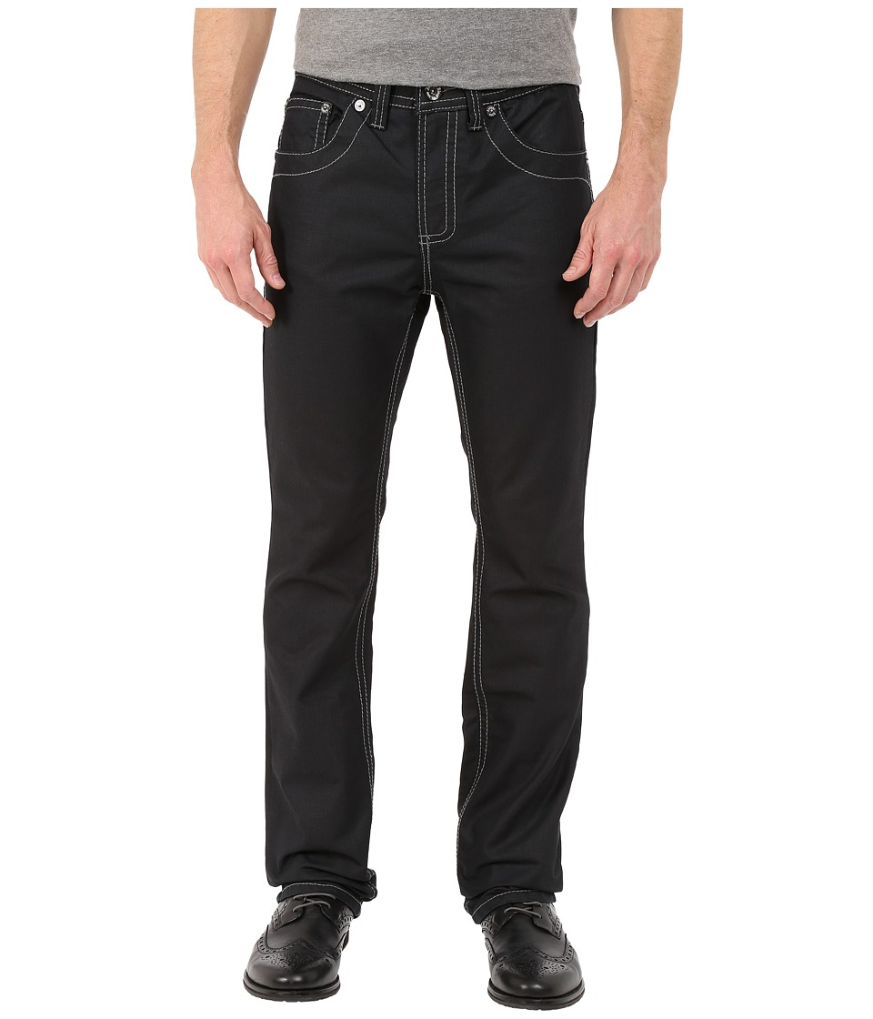 Image of Antique Rivet - Devin Straight Jeans in Black Coated (Black Coated) Men's Jeans
