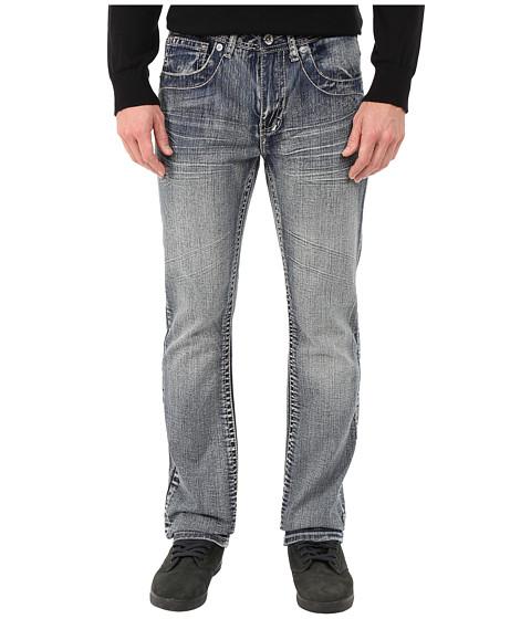 Antique Rivet - Straight Fit Embroidered Jeans in Sanford (Sanford) Men's Jeans