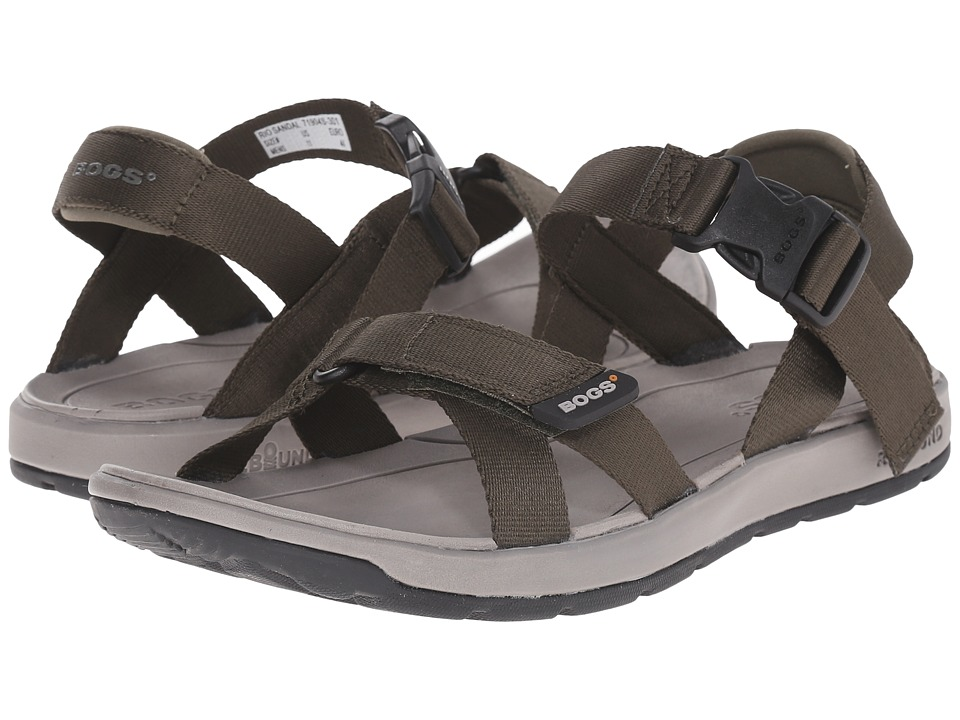 Bogs - Rio Sandal (Dark Green) Men's Sandals
