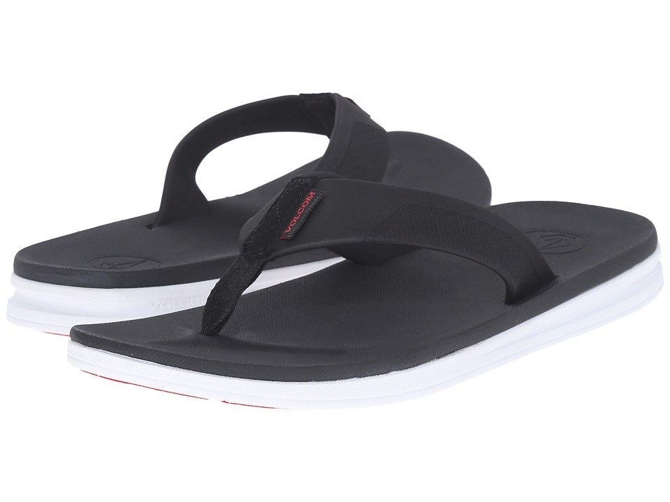 Volcom Draft Sandal (Black Combo) Men