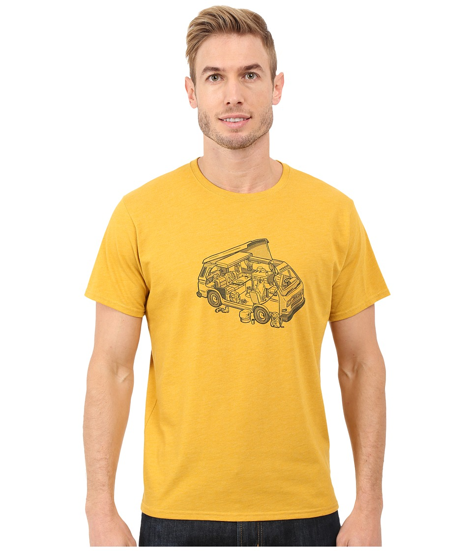 Mountain Hardwear - Van Life S/S Tee (Heather Inca Gold) Men's T Shirt