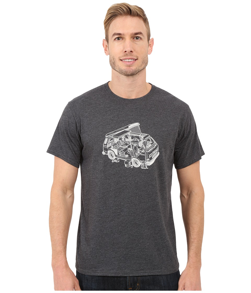 Mountain Hardwear - Van Life S/S Tee (Heather Black) Men