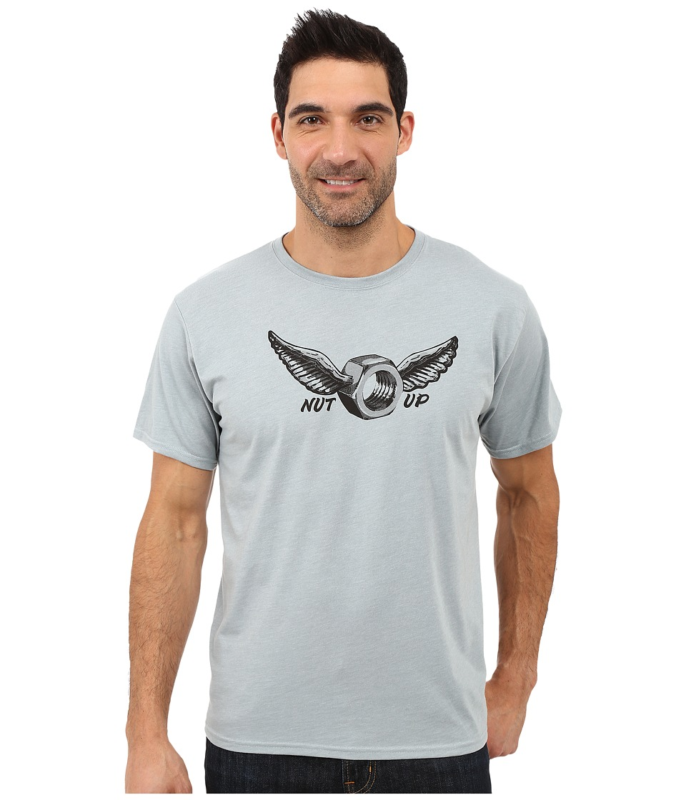 Mountain Hardwear - Nut Up S/S Tee (Heather Ice Shadow) Men's T Shirt