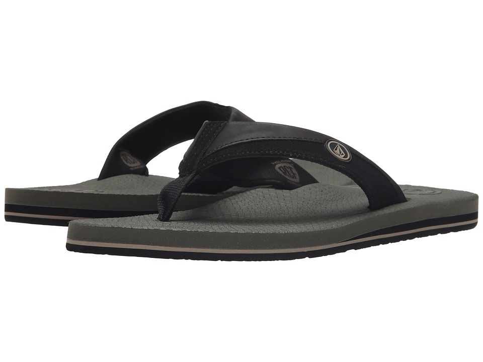 Volcom - Lounger (Army) Men's Sandals