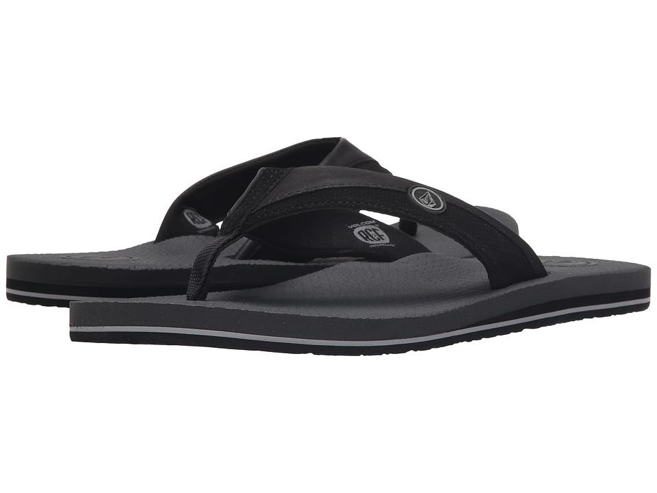 Volcom Lounger (Black Charcoal) Men