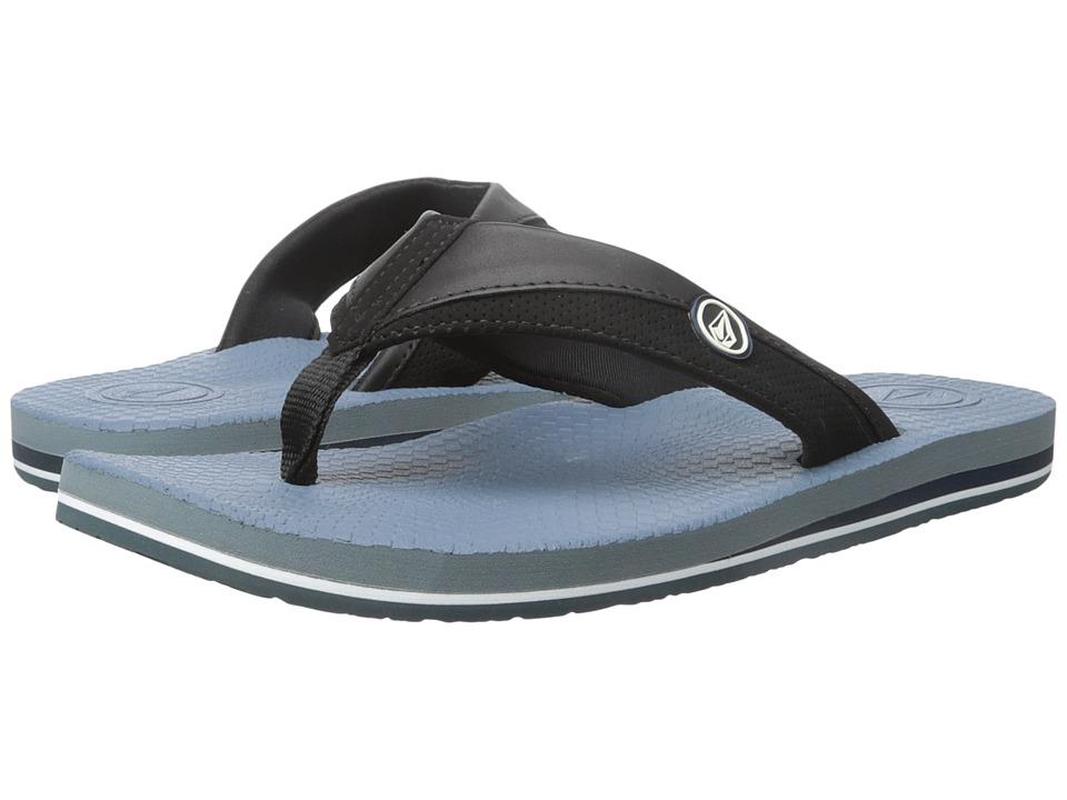 Volcom - Lounger (Navy) Men's Sandals