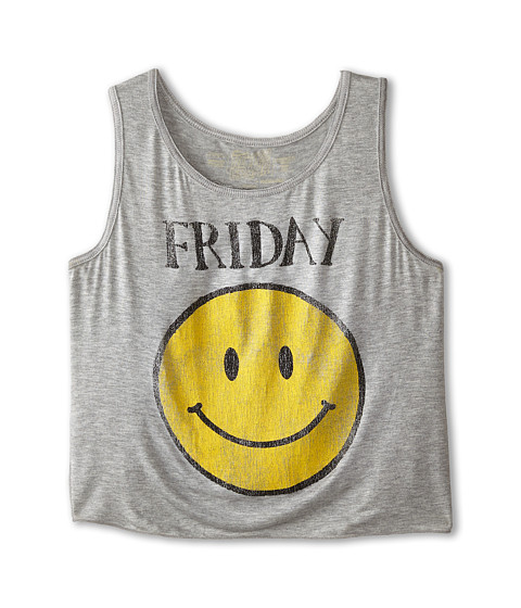 The Original Retro Brand Kids - Friday Tank Top (Little Kids/Big Kids) (Rayon Grey) Girl