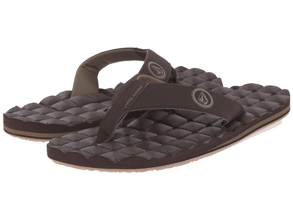 Volcom - Recliner (Coffee) Men's Sandals