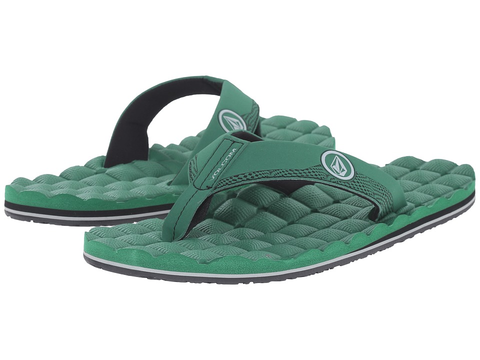 Volcom - Recliner (Green) Men's Sandals