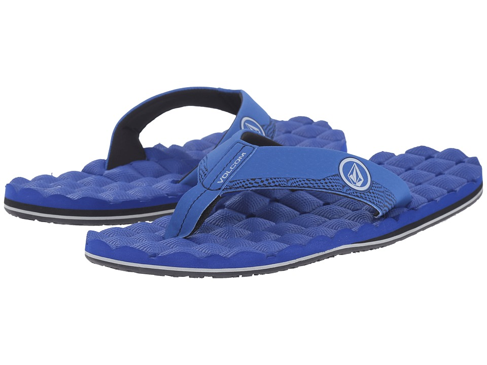 Volcom - Recliner (Royal) Men's Sandals